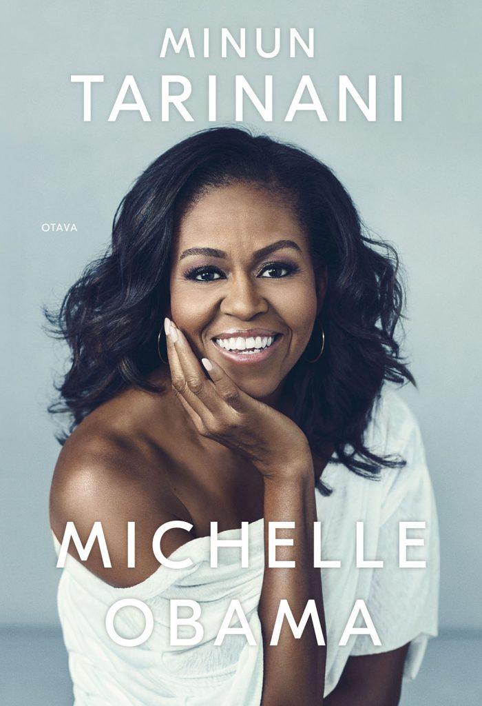 Michelle Obama - Minun tarinani -kirjan kansi